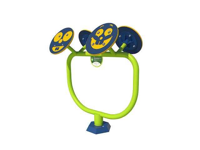 Koła Tai Chi dla dzieci siłownia na plac zabaw zewnętrzne