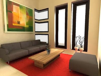 tips mendekorasi ruang tamu minimalis bagus dan berkesan