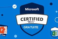 ( Word ,Excel , Power Point) اجتيازاختبار مجاني في مجالات و الحصول على شهادة معترف بها عالميا