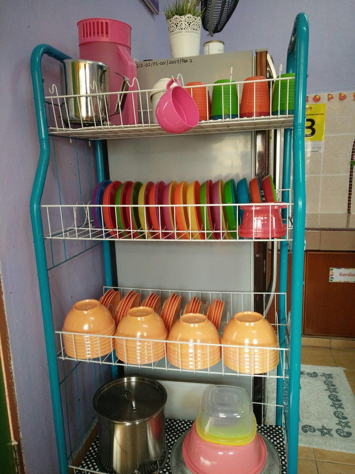 Genius Kids Zone Contoh Hiasan Dapur