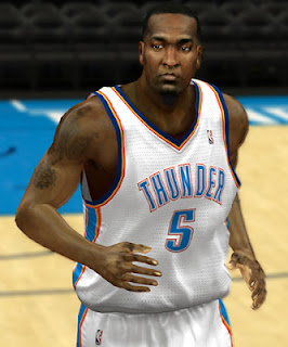 NBA 2K13 Kendrick Perkins Cyberface Mod Patch