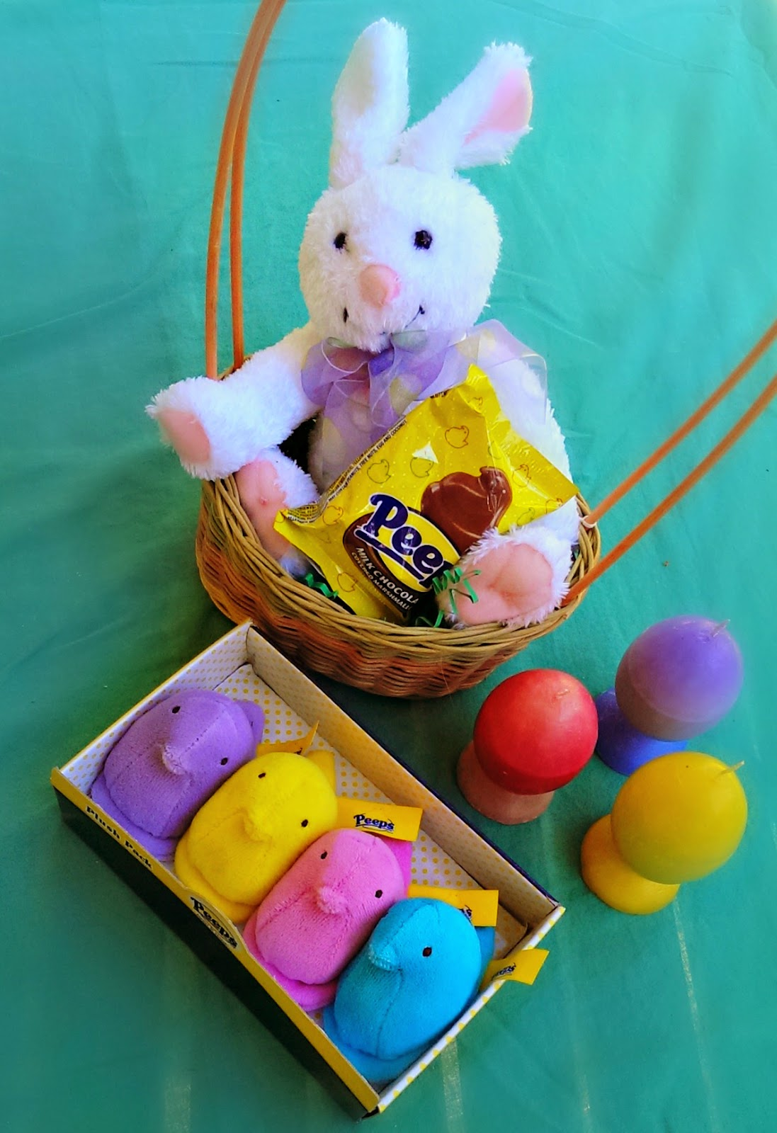 Peeps candy Easter gift baskets