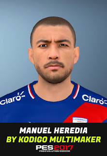 PES 2017 Faces Manuel Heredia by Huseyn