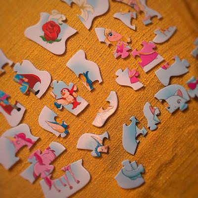 puzzle dla maluszka alexander puzzle układanka układanki dla dzieci dla dziewczynek dla chłopców dwulatka ptaszek jednorożec konik król królowa różowe puzzle