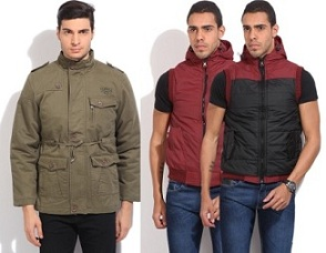Top Brand Men's Jackets – Minimum 50% Off @ Flipkart