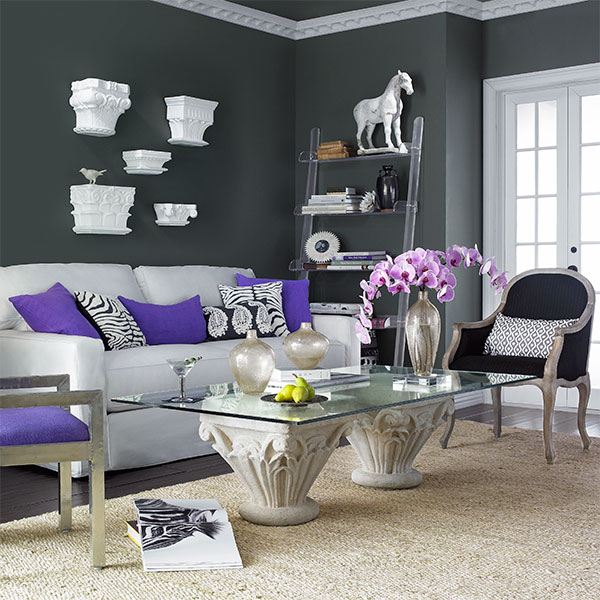 Cool Grey Living Rooms: Fun, Cool And Elegant Grey Living Room Ideas