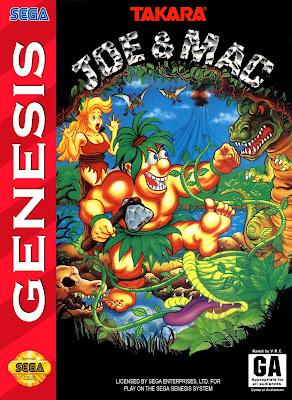 Rom de Joe & Mac: Caveman Ninja - Mega Drive - PT-BR