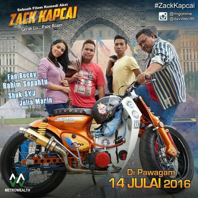 Filem Zack Kapcai