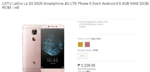 LETV LeEco Le S3 X626 Smartphone 4G LTE Phone 5 5inch