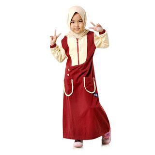 Trend Baju Lebaran Untuk Anak Perempuan Yang Sedang Populer