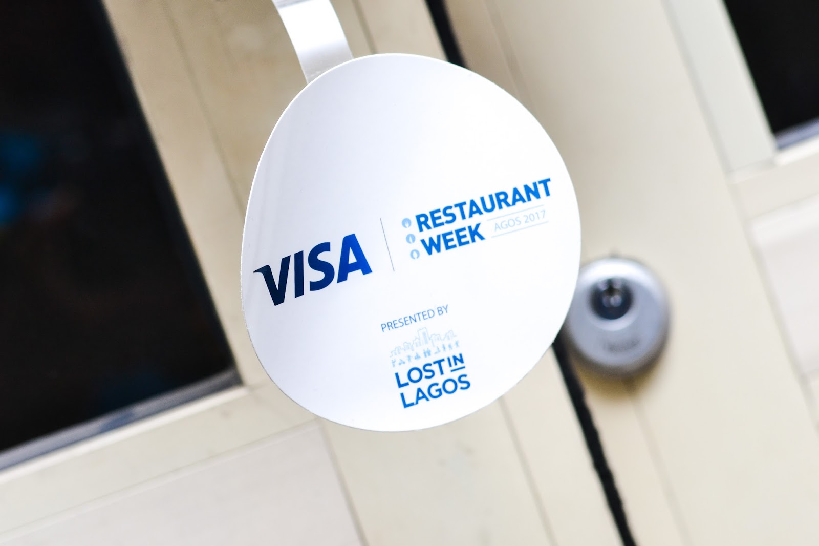 Visa Restaurant Week 2017