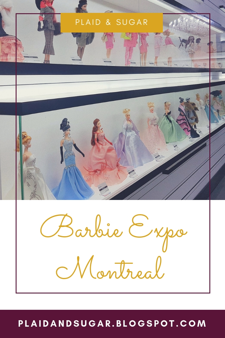 Visiting the Barbie Expo in Downtown Montreal by Plaid and Sugar