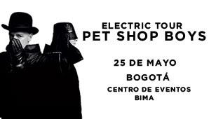 pet shop boys en Bogotá