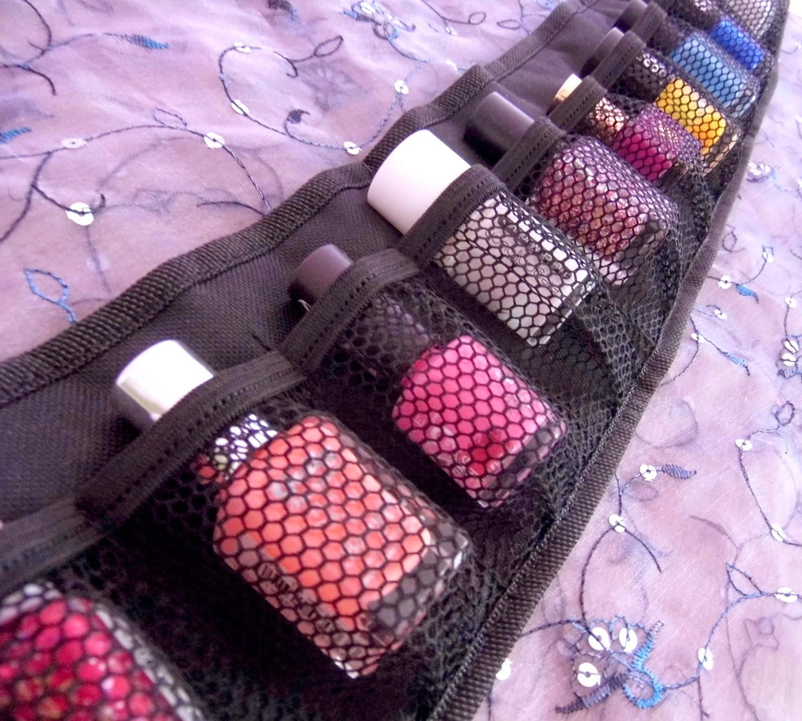 Roo Beauty Nail Polish Rolls | Nail Polish Storage