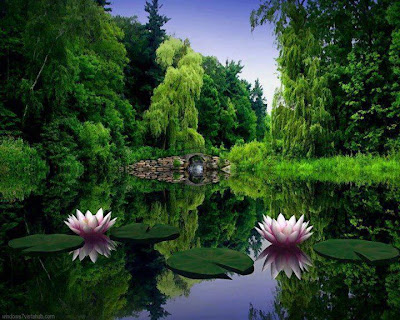 relaks minda kehijauan alam