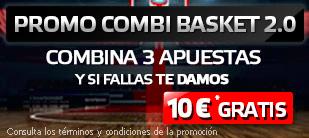 suertia promo 10 euros combi basket Liga Endesa 10-11 diciembre