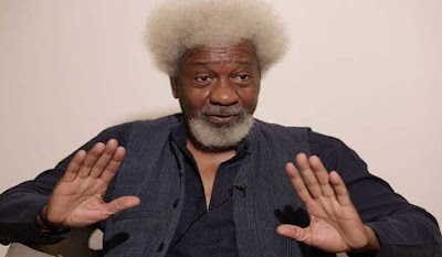 """Wole Soyinka fulfils his promise: """"I threw away my US green card and I've relocated"""""""
