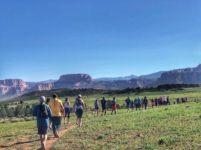Lovely scenery - Zion Half Marathon