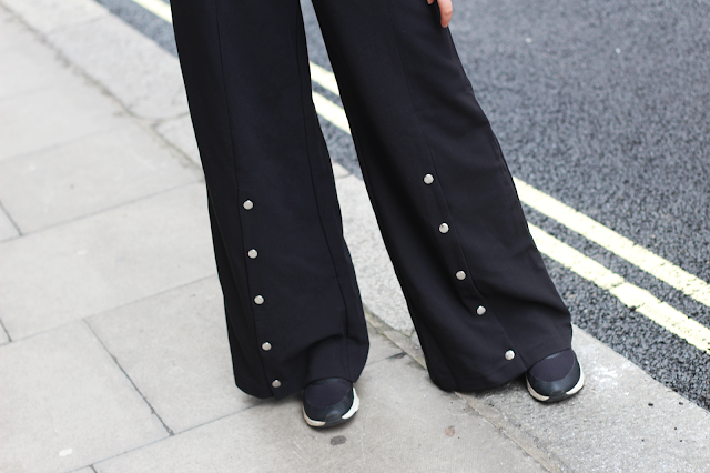 popper trousers missguided fashion blog