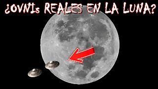 ¿Una flota de OVNIs reales en la Luna? Te están engañando