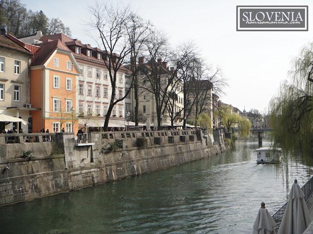 Satu Petang di Ljubljana, Slovenia