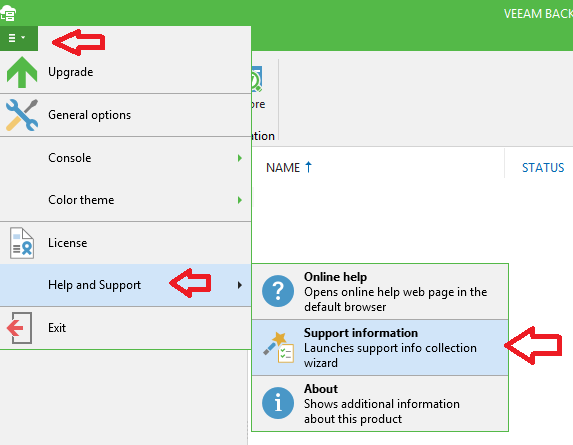 Veeam Backup: Office 365: La solicitud utiliza demasiados recursos