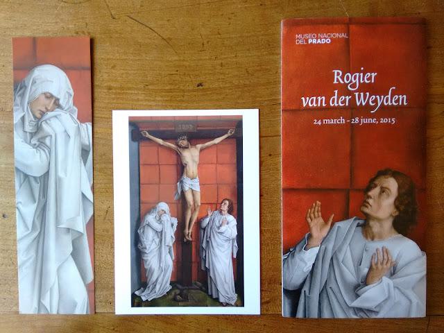 Roger van der weyden, museo del prado, calvario, arte, art, exposicion, exhibition, madrid, spain, voa gallery, yvonne brochard, pintura clásica,