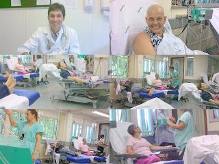 Resultado de imagem para fotos e imagens de pacientes com câncer tomando quimio
