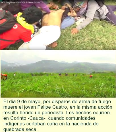 Muerte en el Cauca.