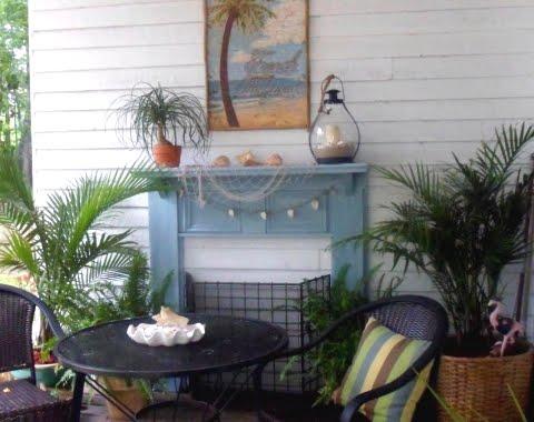 tropical coastal summer porch