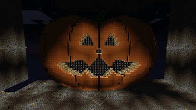 cool pumpkin Minecraft build idea