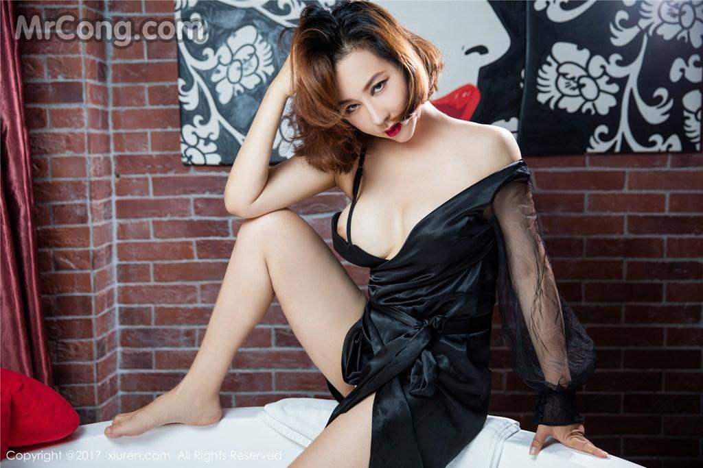 Image MrCong.com-XIUREN-No.689-Anna-Jin-009 in post XIUREN No.689: Người mẫu Anna Jin (安娜金) (60 ảnh)