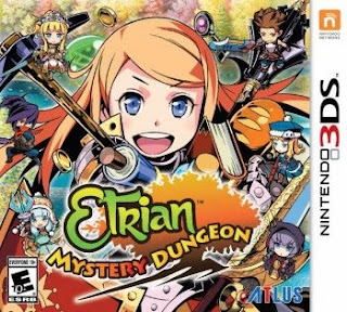 Etrian Mystery Dungeon, 3DS, Mega, Mediafire
