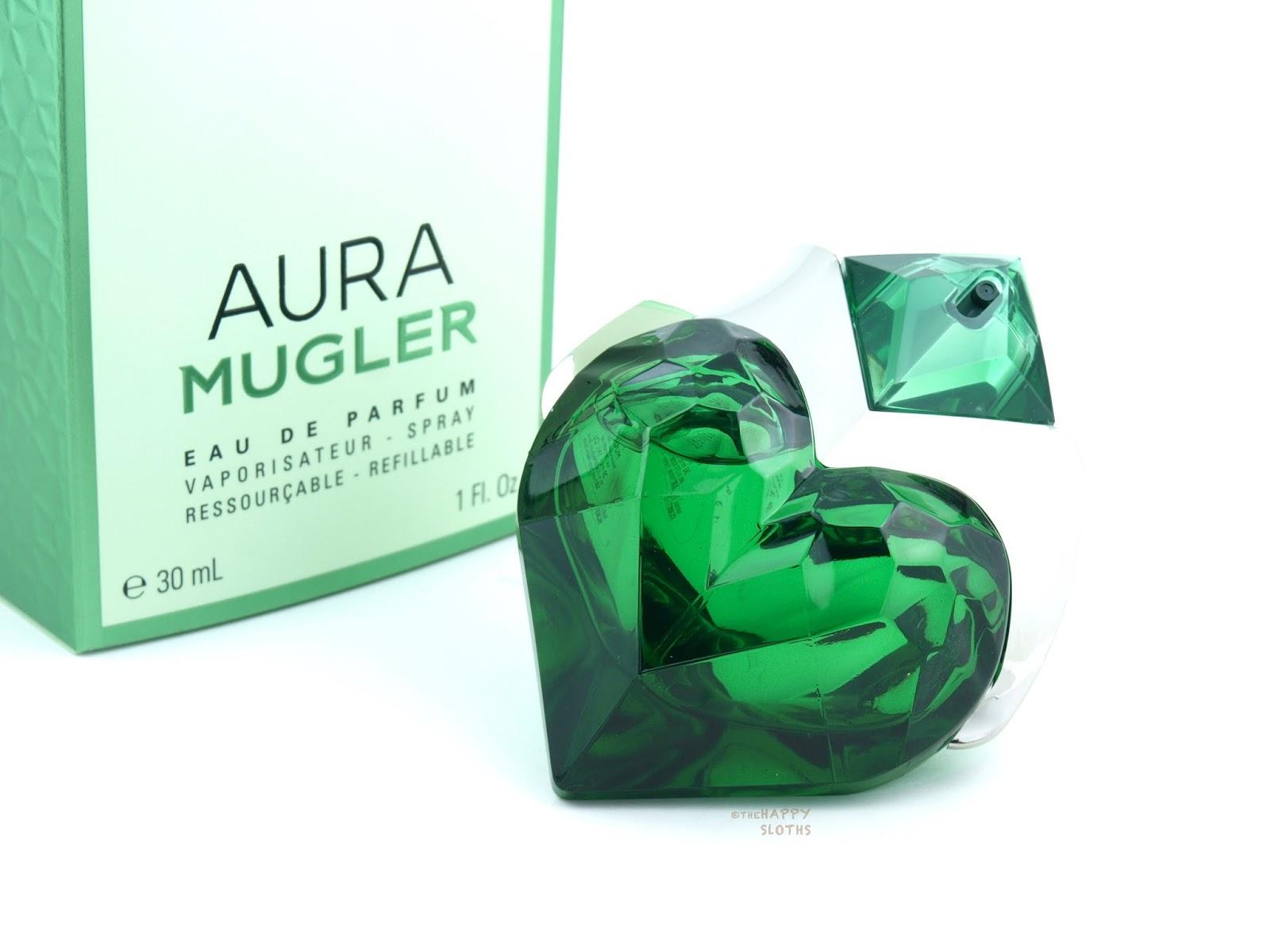 mugler aura eau de parfum review the happy sloths. Black Bedroom Furniture Sets. Home Design Ideas