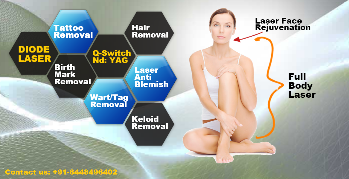 Full Body Laser Hair Removal In Kailash Colony 91 9810436098
