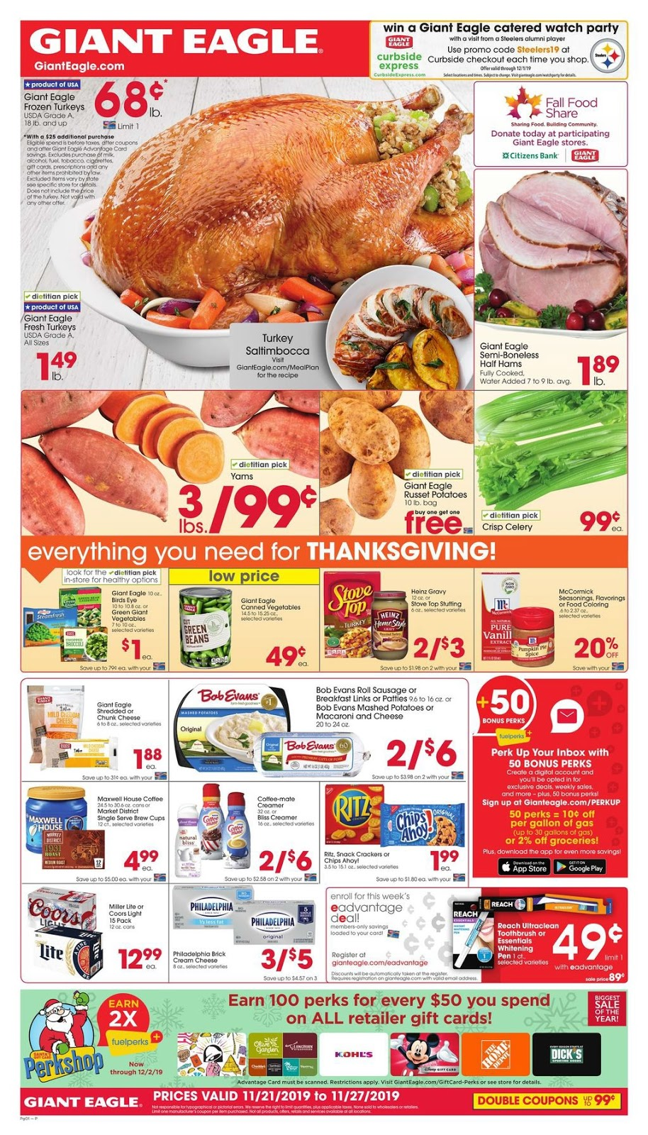 Giant Eagle Weekly Ad