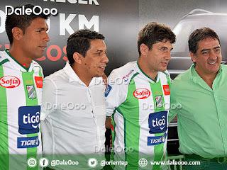 Mario Cuellar y Ronald Raldes fueron presentados como refuerzos de Oriente Petrolero para la Temporada 2019 - DaleOoo