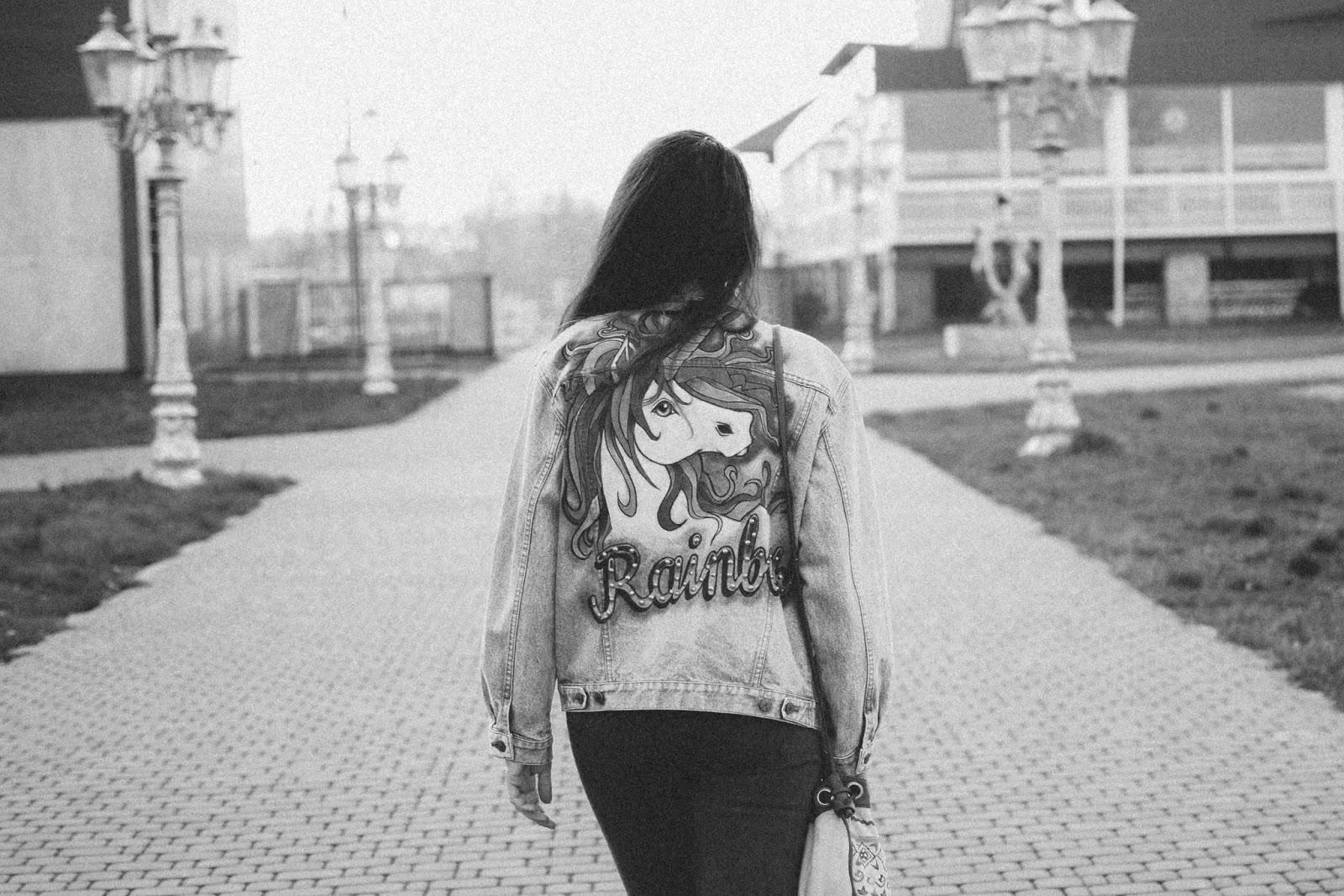 black and white art photo