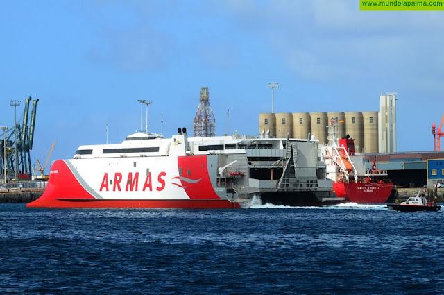 Naviera Armas Trasmediterránea garantiza una flota libre de COVID-19