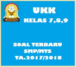 Kumpulan Soal UKK/UAS Semester 2 SMP/MTS  Kelas 7  Tahun 2018