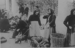 Αποτέλεσμα εικόνας για www.kaliterilamia.g Οδός Φειδίου στα 1952. Στενοσόκακο που συνδέει τις οδούς Σατωβριάνδου και Λεωσθένους. Κάποτε ήταν ο χώρος των παζαριών των μικρών ζώων: γουρουνιών, κατσικιών κι αρνιών