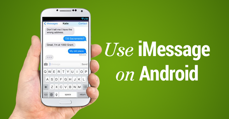 iphone to android imessage how to use apple s imessage on android phone 15488