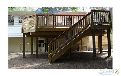 Directions For Deck Stairs Hand Rails