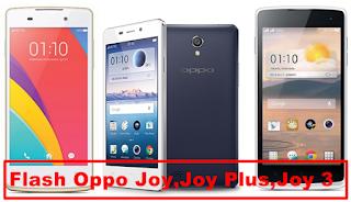 Cara Flash Hp Oppo Joy [Oppo Joy,Oppo joy 3,Oppo Joy Plus] Tanpa PC