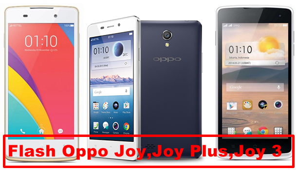 Cara Flash Hp Oppo Joy