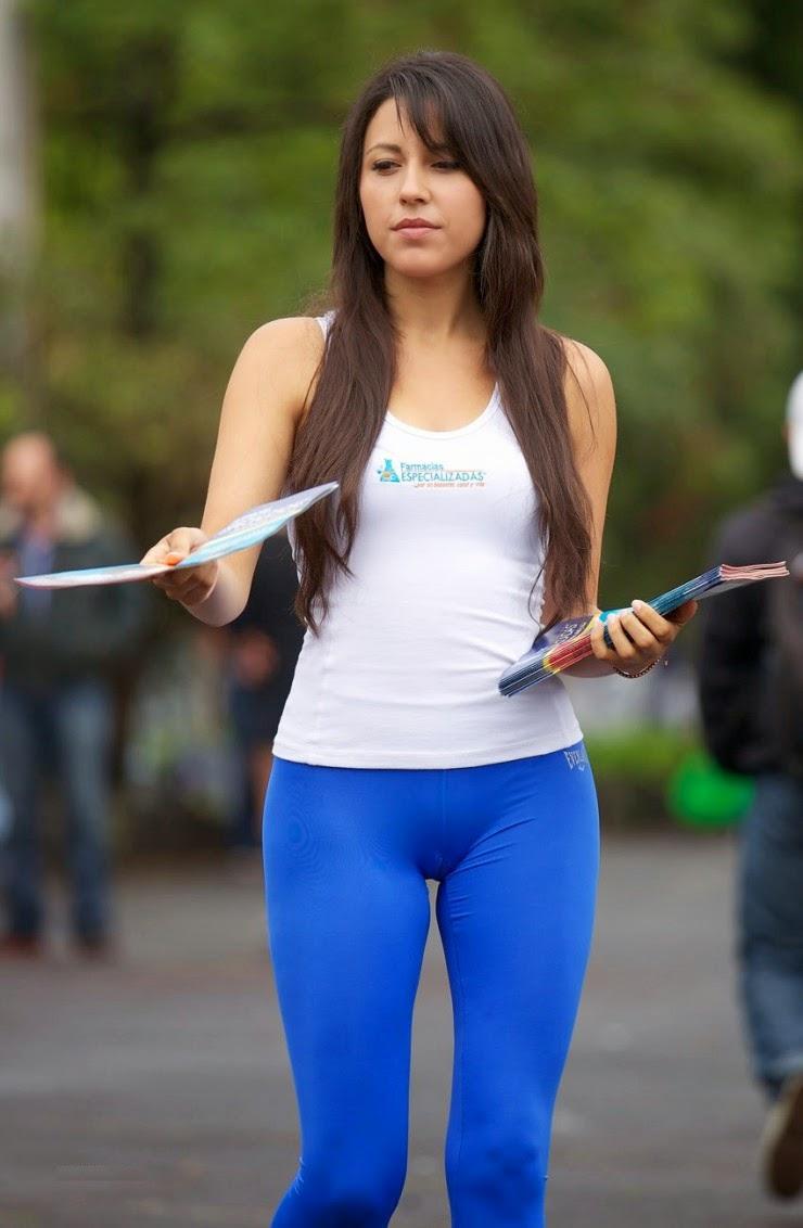 Sexy girls in yoga pants