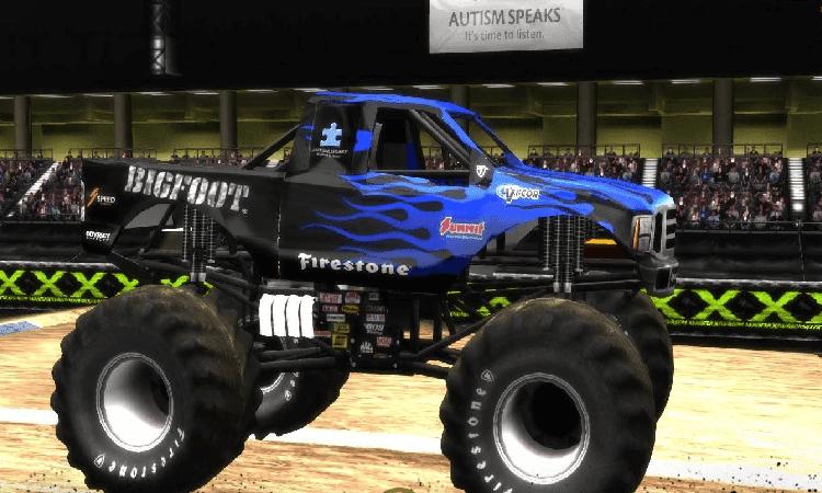 تحميل لعبة تحطيم السيارات Monster Truck Challenge