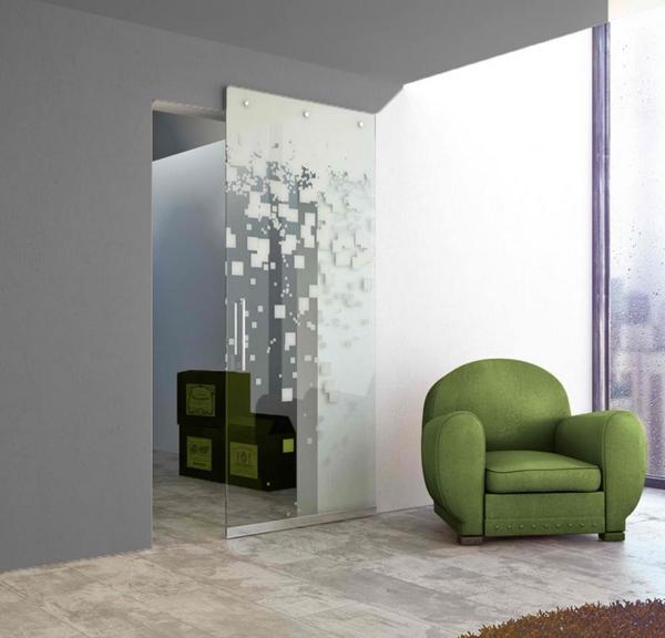 Desain Pintu Kaca Geser Rumah Modern