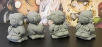 bambino dei moschini modellini statuette sculture da schizzo action figure personalizzate fatta a mano artibal  orme magiche