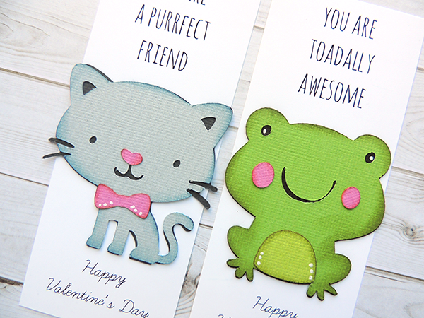 DIY Valentines - Bookmarks with the Cricut